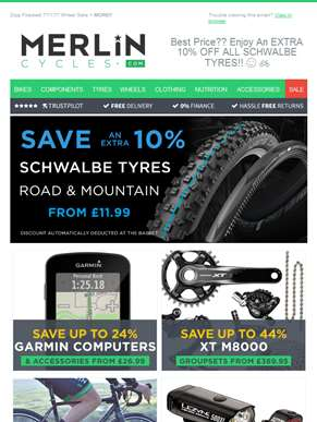 Best Price?? Enjoy An EXTRA 10% OFF ALL SCHWALBE TYRES!! ?? ??