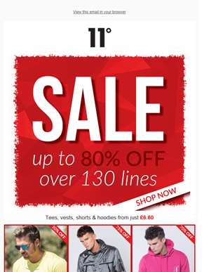 SALE SALE SALE! GET UP TO 80% OFF ????