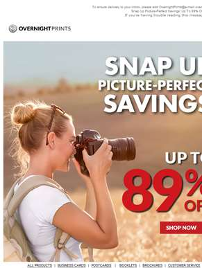 Smile & Save Up to 89% on Photo Books and More.