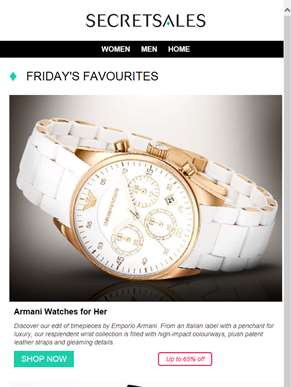 Armani Women's Watches, Jady Rose Shoes and Iren Klairie