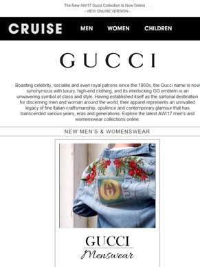 Have You Seen The New Gucci Collection?