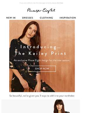 Introducing our new Kailey print | 3 ways to wear it
