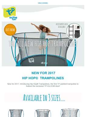 The New Hip Hop Trampolines Have Arrived...