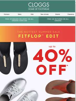 The FitFlop Edit: Up to 40% off