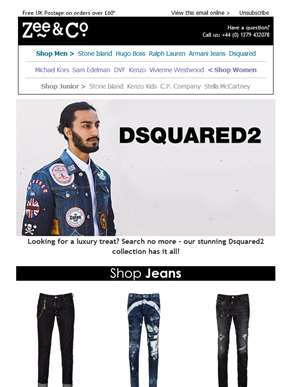 Dsquared2 | Luxury Fashion for the Luxury Man