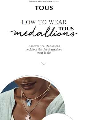 Discover how to wear TOUS Medallions