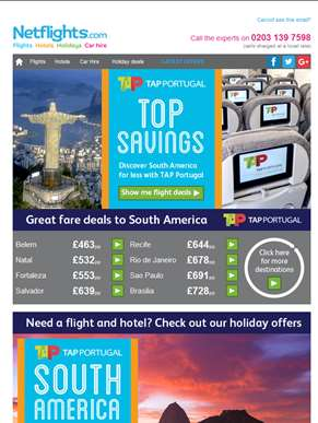 Tap into South America with these great deals