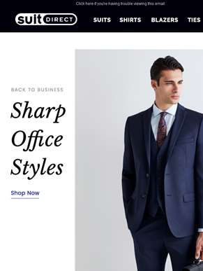 Back To Business - Sharp Office Styles