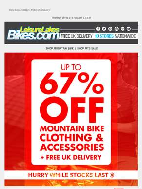 MTB BARGAINS! Up to 67% Off! ??