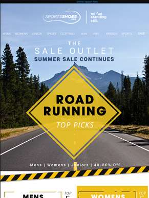 The Sale Outlet - Top Picks For Road Runners