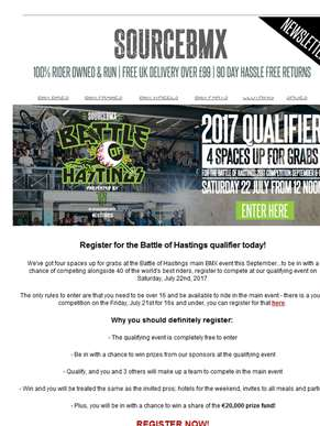 Want to ride at this year's Battle of Hastings? ??