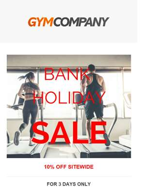 Train for less! Huge Savings this Bank Holiday.