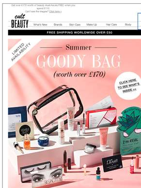 Our Summer Goody Bag has arrived