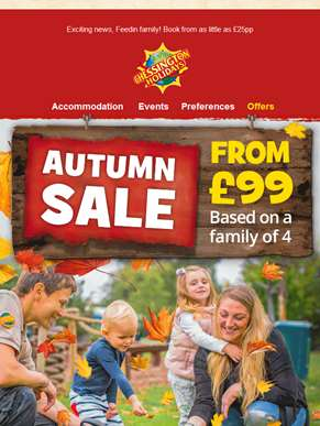 Autumn sale Feedin family!