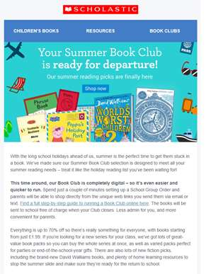Your Summer Book Club is ready for departure!