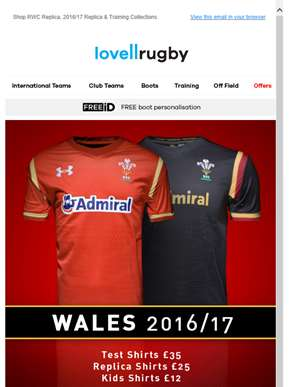 New reductions added to the Wales Sale...