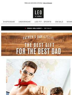20% OFF Menswear > Father's Day Sale