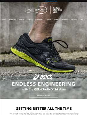 A legend - Improved - Shop the new Kayano 24 now