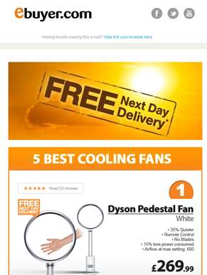 Hi  - Beat the Heat with Amazing Offers on Fans
