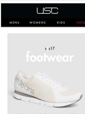 The footwear edit - shop Converse, Puma, CK + more....