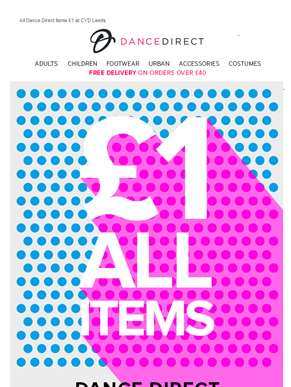 End of Line Sale | All our Items £1 at CYD? Leeds...