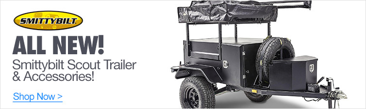 All New Smittybilt Scout Trailer & Accessories!