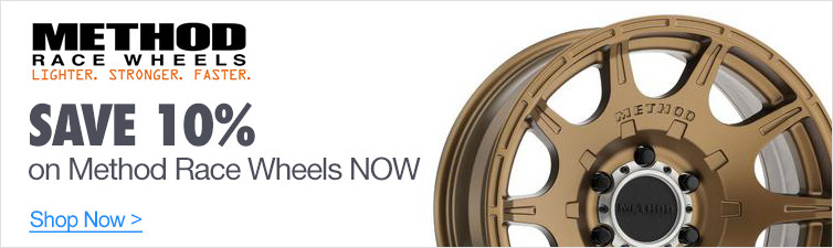Save 10% on Method Race Wheels NOW