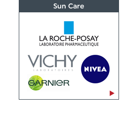 Travel Essentials - Sun Care: La Roche Posay, Vichy, Nivea and Garnier. Shop now!