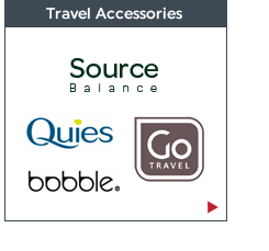 Travel Accessories: Go-Travel, Source Balance and Bobble. Shop now!