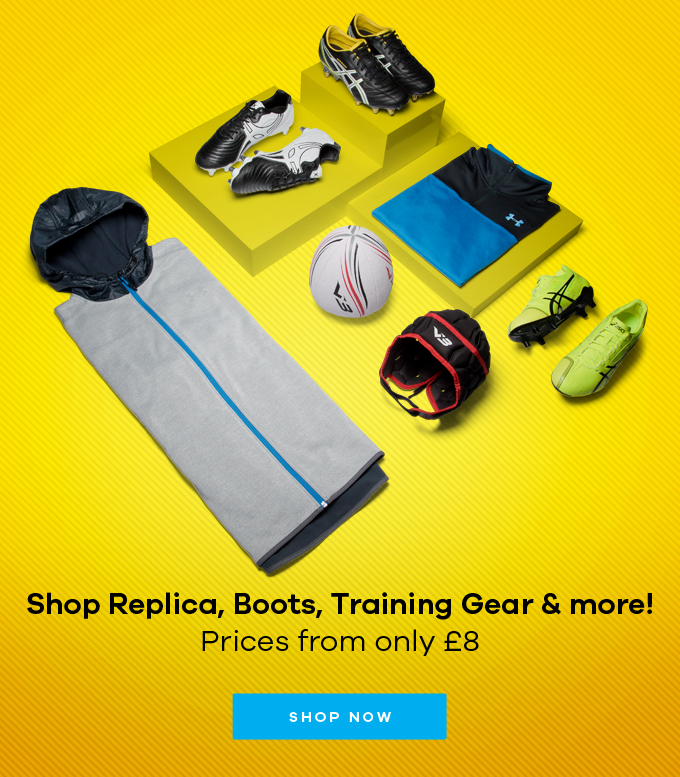 Shop Replica, Boots, Training Gear & more!